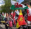 March for Welsh Independence arranged by AUOB Cymru First national march; Wales, Europe 37.jpg