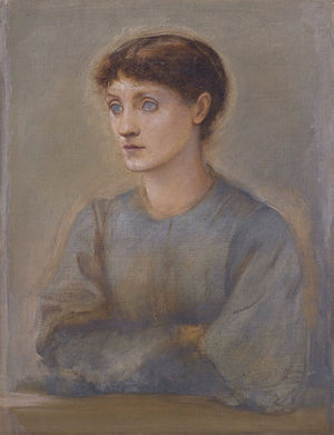 Edward Burne-Jones - Margaret, daughter of Burne-Jones
