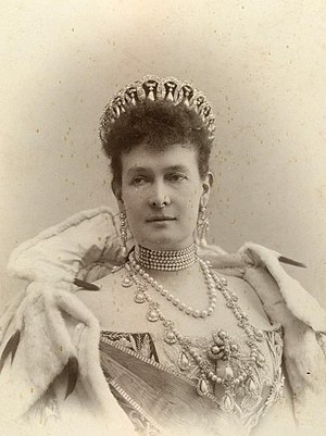 Duchess Marie of Mecklenburg-Schwerin - Grand Duchess Maria Pavlovna wearing the Vladimir Tiara