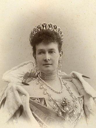 Duchess Marie of Mecklenburg-Schwerin - Grand Duchess Maria Pavlovna wearing the Vladimir Tiara