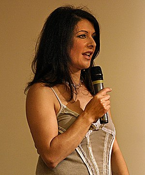 Parallels (Star Trek: The Next Generation) - Image: Marina Sirtis in 2005 Netherlands