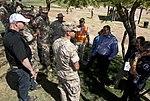Marine and Local Leadership Coordinate at AV-8B Harrier Crash Scene in Imperial, Calif. 140606-M-TH017-003.jpg