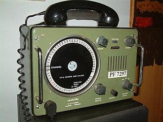Marine VHF radio - A classic maritime VHF set