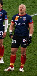 Marius Tincu Romanian rugby union player