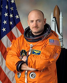 Mark E. Kelly, commander of STS-134, seen here in January 2005. Image: NASA / JSC.