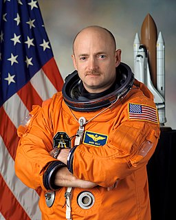 Mark Kelly American astronaut and engineer