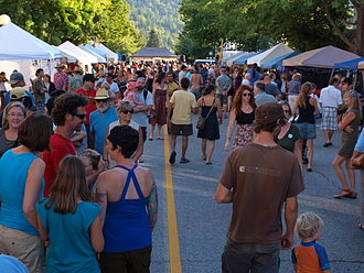 Nelson, British Columbia - Nelson Marketfest