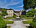 Marmagne Abtei Fontenay Brunnen 1.jpg