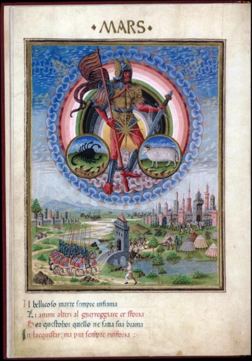 Mars - De Sphaera - Biblioteca Estense lat209