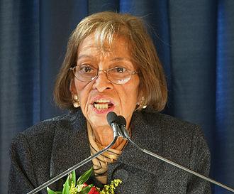 Mary Burke Washington - Washington in 2007