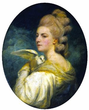 Mary Nesbitt - Painting of Mary Nesbitt by the artist Joshua Reynolds, 1781, Wallace Collection, London