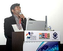Master Class on Cinematography by K.K. Senthil Kumar (Cinematographer), at the 46th International Film Festival of India (IFFI-2015), in Panaji, Goa on November 26, 2015.jpg