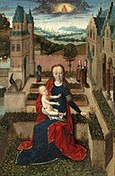 Master of the Tiburtine Sibyl - Madonna and Child in a Garden 3ZKCP N07909-128.jpg
