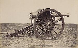 Reffye 85 mm cannon - Image: Matériel de l'artillerie p 23 canon de 7