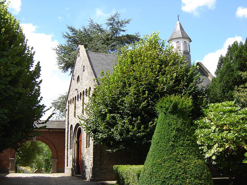 Chapel of Saint Amalberga in Mater. Mater, Oudenaarde, East Flanders, Belgium