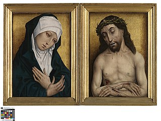Mater Dolorosa and Man of Sorrows