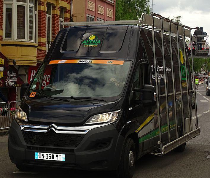 Reportage réalisé le jeudi 7 mai 2015 à l'occasion de l'arrivée de la deuxième étape des Quatre jours de Dunkerque 2015 à Maubeuge, Nord, Nord-Pas-de-Calais, France.