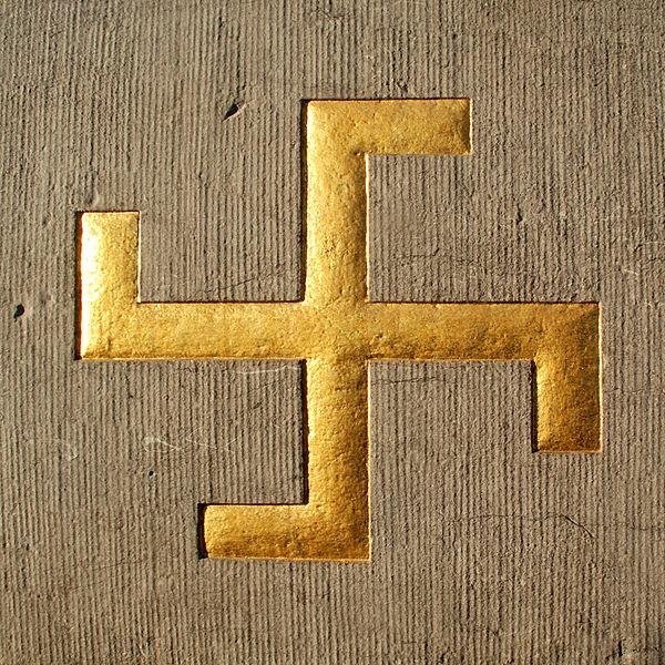 Belgique - Brabant wallon - Court-Saint-Etienne - Mausolée Goblet d'Alviella - symboles ésotériques - svastika