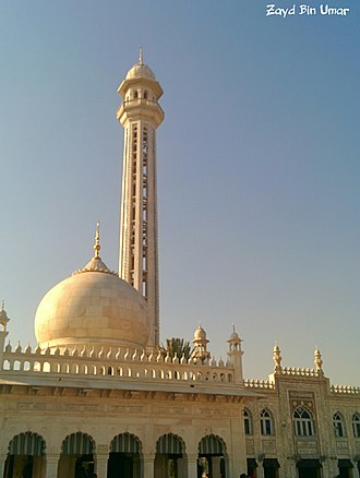 Shrine of Meher Ali Shah - Another view of the Mausoleum.