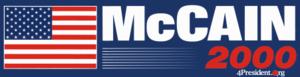 John McCain presidential campaign, 2000 - Image: Mc Cain 2000logo
