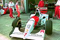 Mclaren MP4-9 at the 1994 British Grand Prix (32500291106).jpg