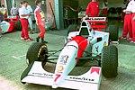 Mclaren MP4-9 at the 1994 British Grand Prix (32500291106).jpg