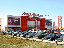 Media Markt in Weiterstadt (D)
