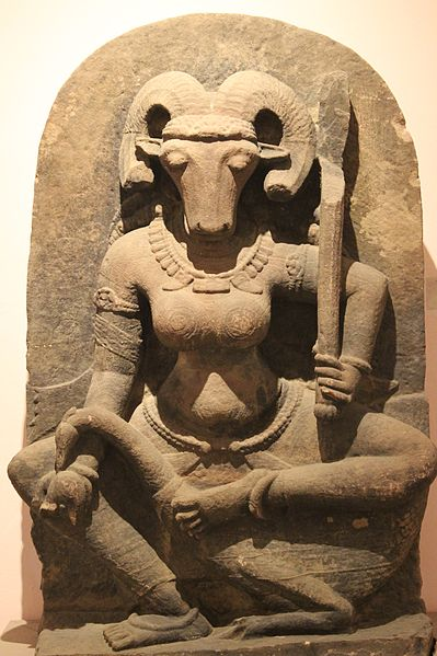 File:Medieval Yogini Statue, National Museum, New Delhi.jpg