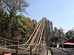 Medusa lift hill, Six Flags Mexico.jpg