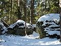 Medvědí stezka, skály u Soutěsky lapků 01.jpg