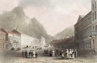 Mehadia - Mehadia, 1842