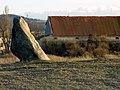 Menhir Zkamenělý Mnich, Drahomyšl - panoramio.jpg