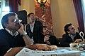 Menichini, Facci, Cruciani and Parenzo by Annalisa Donati - International Journalism Festival 2011.jpg