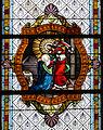 Merazhofen Pfarrkirche Chorfenster Christus erscheint Maria Magdalena.jpg