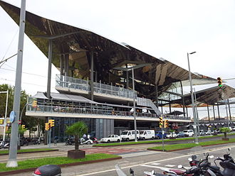 Plaça de les Glòries Catalanes - The new Encants market