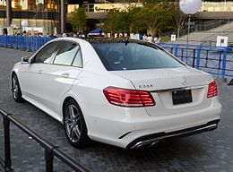 Mercedes-Benz E350 AVANTGARDE (W212) rear.JPG