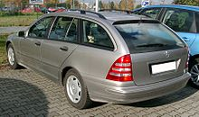 Mercedes W203 Kombi rear 20071030.jpg