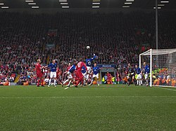 Liverpool - Everton, 25 mars 2006.