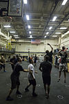 Mesa Verde Marines, Sailors enjoy hangar bay basketball 140628-M-MX805-040.jpg