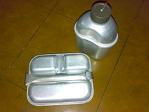 Mess kit - Armed Forces of the Philippines mess kit similar to US military mess kits