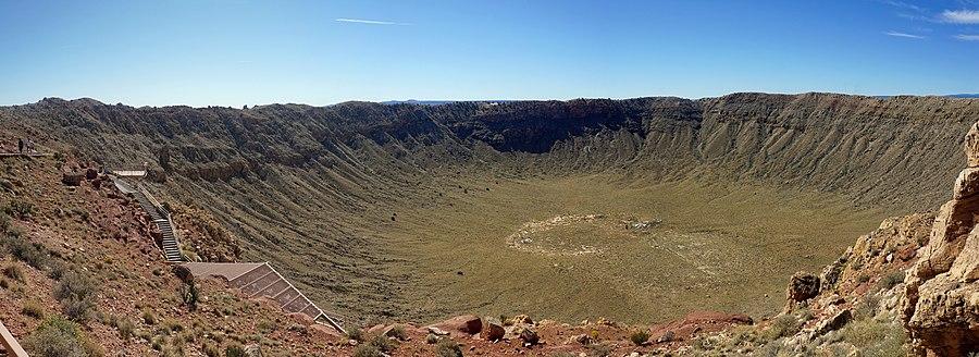 Resultado de imagen de Cráter Barringer