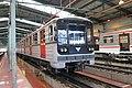 Metro 81-71 (wagon 2504) at Open days of Depo Hostivař in Depo Hostivař in Strašnice, Prague.jpg