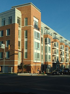 Columbia, Maryland - The Metropolitan in Downtown Columbia