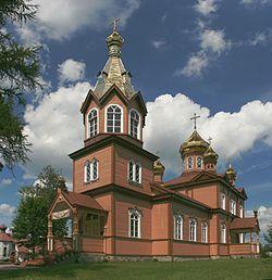 Michałowo - Orthodox church of St. Nicholas 05 mod.jpg
