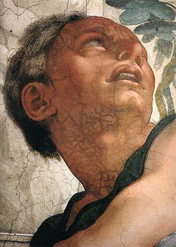 Michelangelo, profeti, Jonah 03