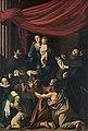 Michelangelo Merisi, gen. Caravaggio, , Kunsthistorisches Museum Wien, Gemäldegalerie - Rosenkranzmadonna - GG 147 - Kunsthistorisches Museum.jpg