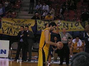 Milan Jeremić (basketball) - Image: Milan Jeremic basket