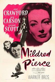 <i>Mildred Pierce</i> (film) 1945 film by Michael Curtiz