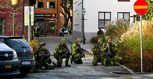 Home Guard (Sweden) - Home Guard soldiers in Ystad.