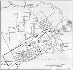 Military dispositif Santo Domingo 1965